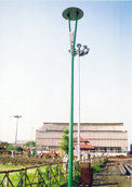 street lighting manufacturers, street lighting india, steel poles lights india